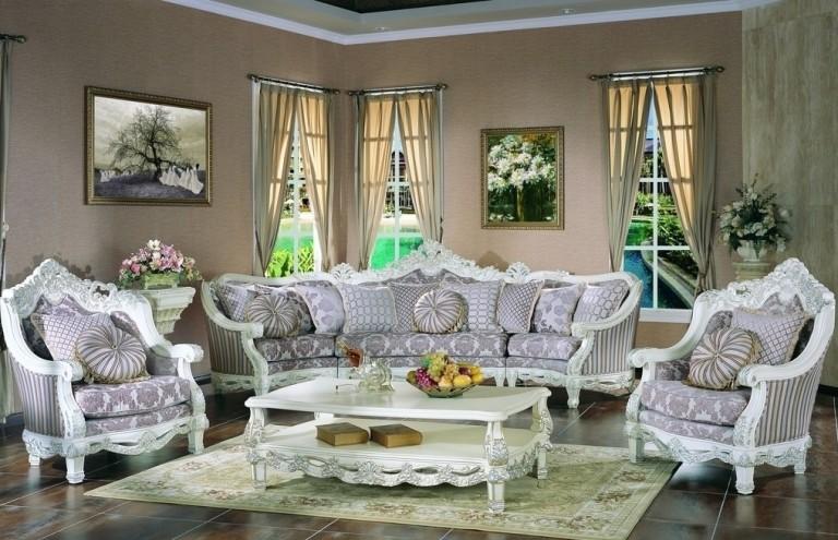 Chọn thảm cũng là một yêu cầu cần nhờ khi bài trí phòng khách theo phong thủy