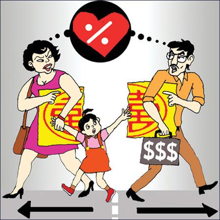 Giữa vợ chồng có thể không có tài sản chung