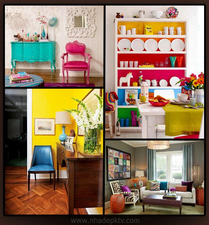 Tư vấn thiết kế nội thất 5 tông màu cho nhà đẹp 2015 05, không gian nhà đẹp hiện đại
