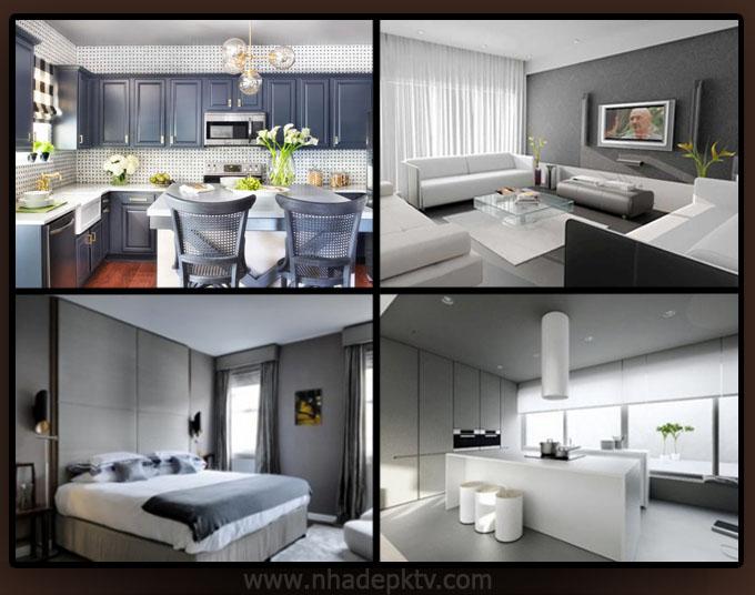 Tư vấn thiết kế nội thất 5 tông màu cho nhà đẹp 2015 04, không gian nhà đẹp hiện đại