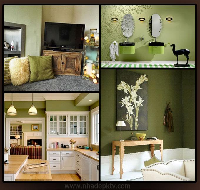 Tư vấn thiết kế nội thất 5 tông màu cho nhà đẹp 2015 02, không gian nhà đẹp hiện đại