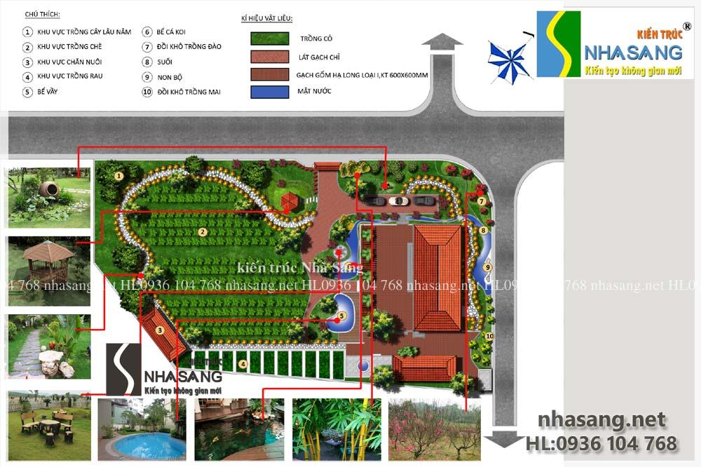 Thiết kế sân vườn truyền thống: Một không gian yên bình và mộc mạc của làng quê Việt