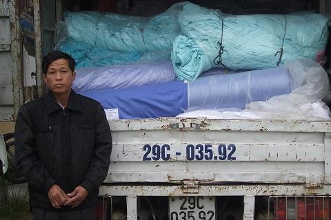 Xưởng may mặc bị mất cắp 2 tấn vải