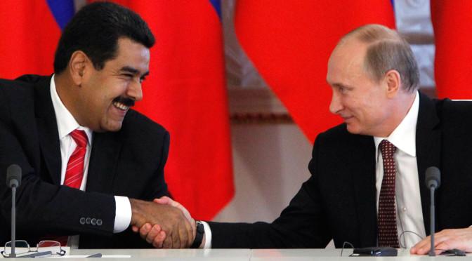 Tổng thống Putin sẽ gặp Tổng thống Venezuela bàn về giá dầu