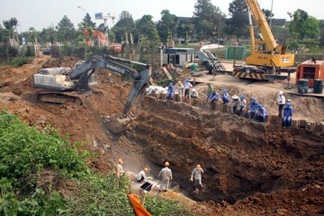 Vinaconex: Đã cung cấp lại nước sạch cho 70.000 hộ dân Hà Nội