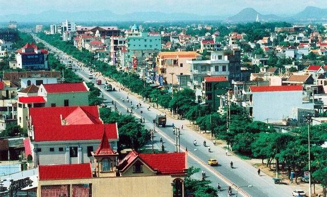 Thành phố Vinh sẽ mở rộng lên 250 km2