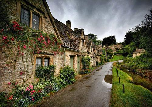 Vẻ đẹp của những ngôi làng ở châu Âu