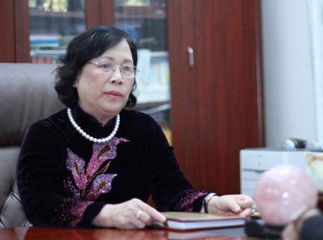 Bộ trưởng Bộ LĐ-TB&XH Phạm Thị Hải Chuyền