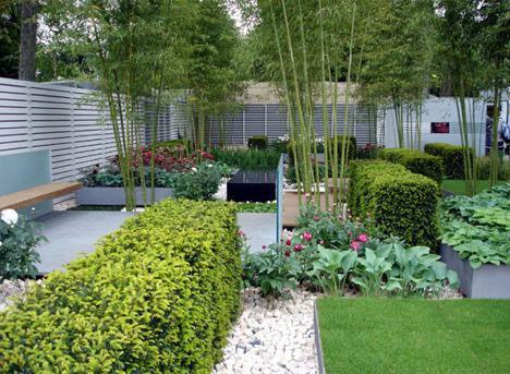 Bài trí sân vườn hài hòa theo nguyên tắc phong thủy