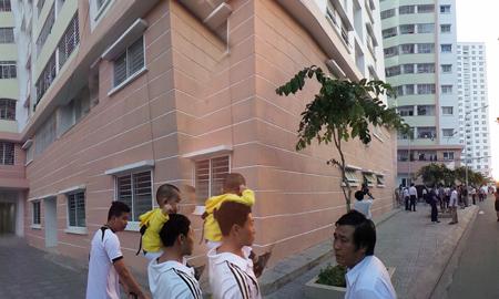 Khu nhà ở xã hội tại phường Thành Nhất, TP. Vũng Tàu đã có hơn 400 hộ gia đình đến ở.