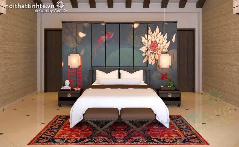 Thiết kế biệt thự cuối tuần đẳng cấp phong cách Á đông thuần Việt