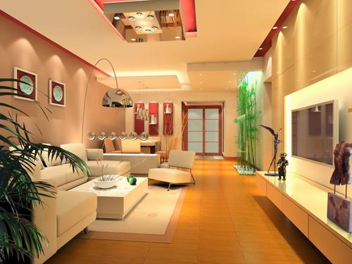 Trang trí trần thạch cao chung cư hợp phong thủy