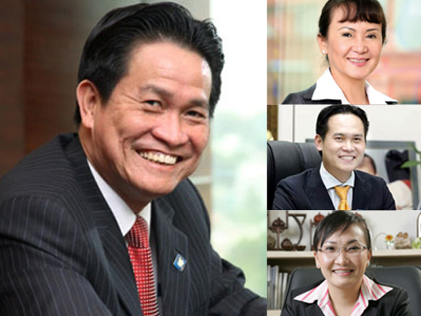 Cổ phiếu công ty nhà ông Đặng Văn Thành bị bán mạnh