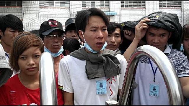 Không có lương tháng 13, gần 700 công nhân công ty TNHH Sunny Wide VN ngừng việc