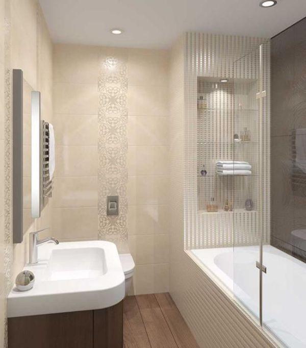 Phòng tắm nên sử dụng các gam màu sáng
