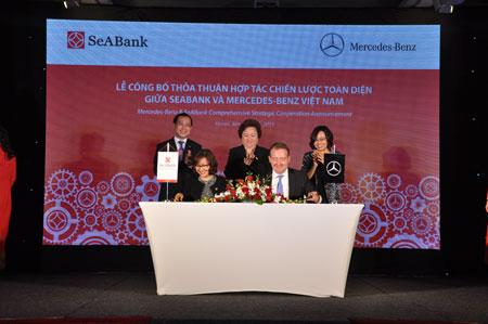 Mercedes - Benz và SeABank hợp tác chiến lược toàn diện