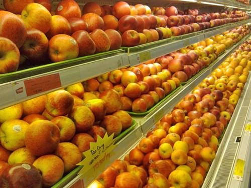 Người tiêu dùng e ngại, táo nhập khẩu liêu xiêu