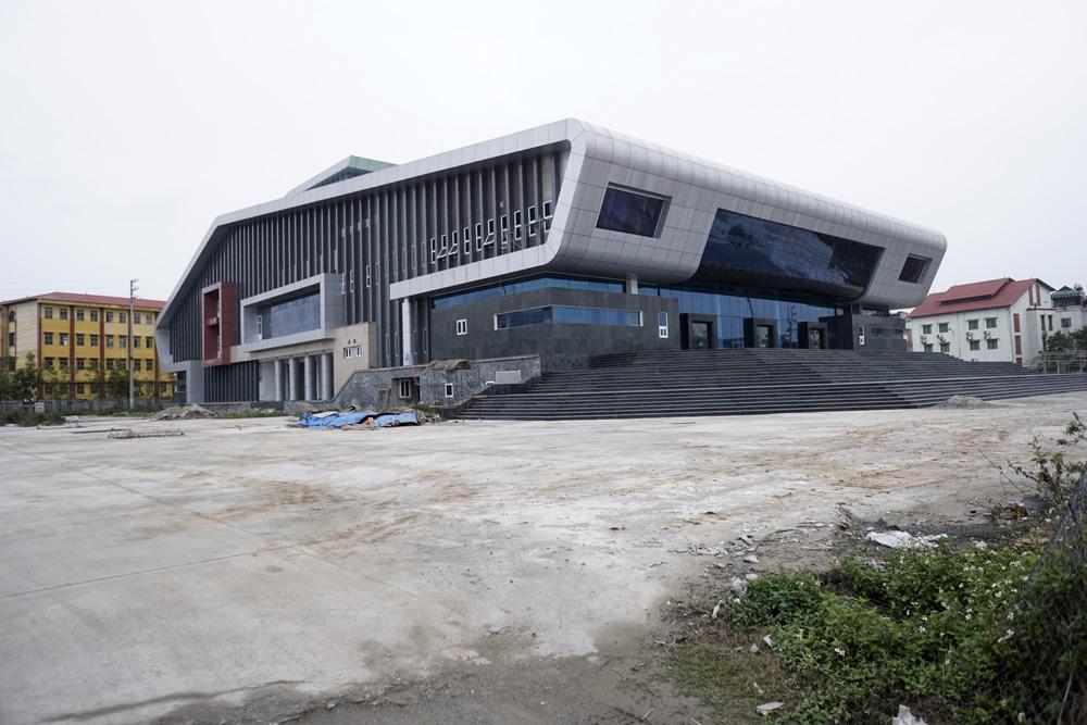 Mặt chính Nhà hát trăm tỷ