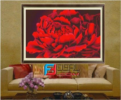 Trang trí nhà cửa đón Tết với sắc màu Phương Đông