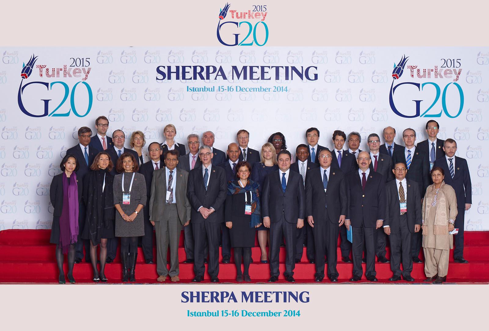 G20: Kinh tế toàn cầu năm 2015 sẽ khó khăn