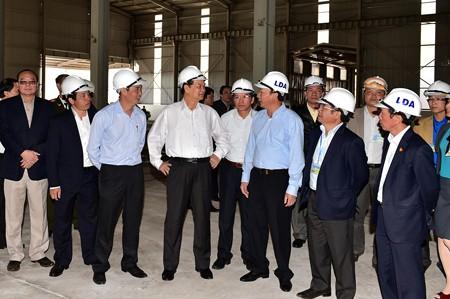 Thủ tướng thị sát Tổ hợp bauxite Tân Rai và Nhà máy alumin Nhân Cơ
