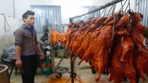 Số vịt này dù chưa qua kiểm dịch nhưng vẫn được mang tiêu thụ tại các nhà hàng ,quán ăn ở Hà Nội