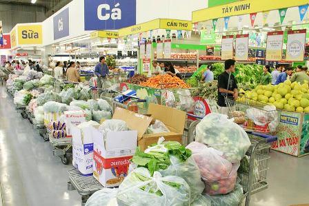 TPHCM: Sức mua tăng đột biến trong dịp Tết