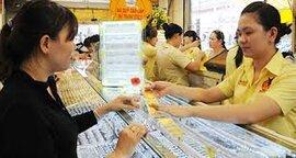 Giá vàng bật tăng mạnh phiên giáp Tết