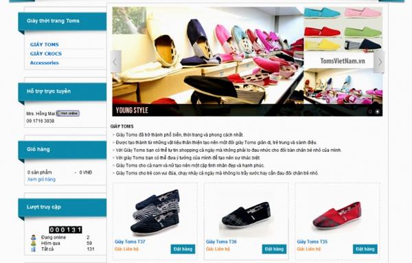 Các shop thời trang truyền thống đang bị lấn lướt bởi xu hướng kinh doanh qua mạng.