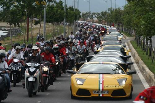 Hàng loạt siêu xe triệu đô đã tìm đến Việt Nam