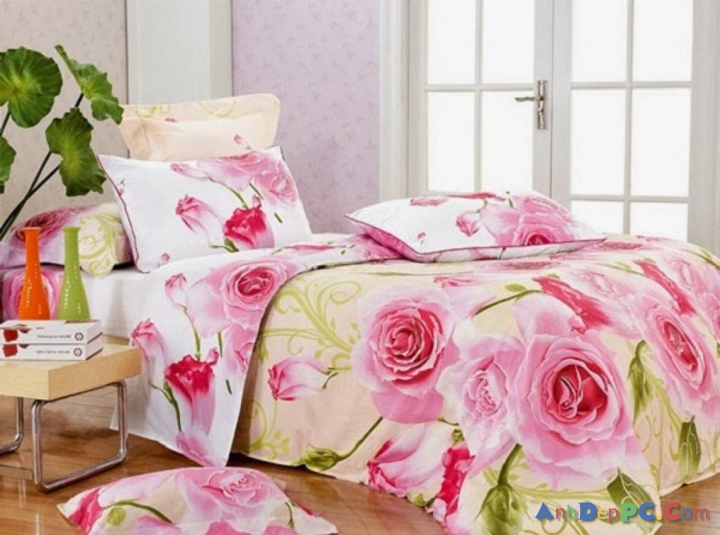 Phòng ngủ cực đẹp cho mùa xuân