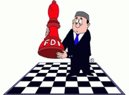 Vốn FDI sụt giảm mạnh trong 2 tháng đầu năm