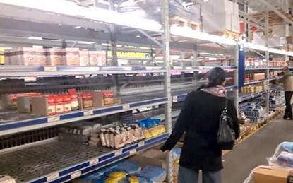 """Dân Ukraine cuống cuồng đối phó với """"ngày đen tối"""""""