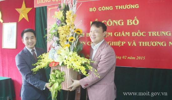 Ông Vũ Hùng Sơn được bổ nhiệm Giám đốc Trung tâm Thông tin Công nghiệp và Thương mại – Bộ Công Thương