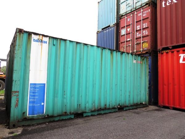 Các container vô chủ nằm tại cảng Hải Phòng từ năm 2006.