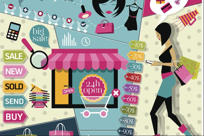 Mua sắm trực tuyến khách hàng cần 'tinh mắt' trong việc đáng giá sản phẩm