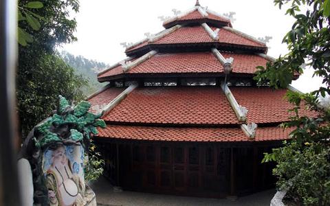 Ngôi nhà trong khu biệt phủ của đại gia vàng