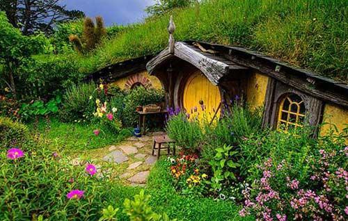 Những ngôi nhà xinh xắn như trong cổ tích