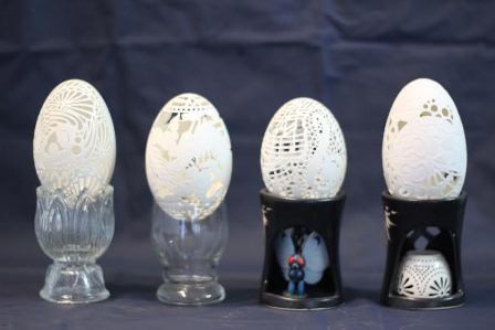 """Mỗi chiếc vỏ trứng là """"đứa con tinh thần"""" nên ông luôn nâng niu và quý trọng"""