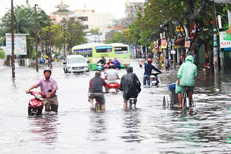 Vay WorldBank 450 triệu USD cải thiện tình trạng lũ lụt tại TPHCM