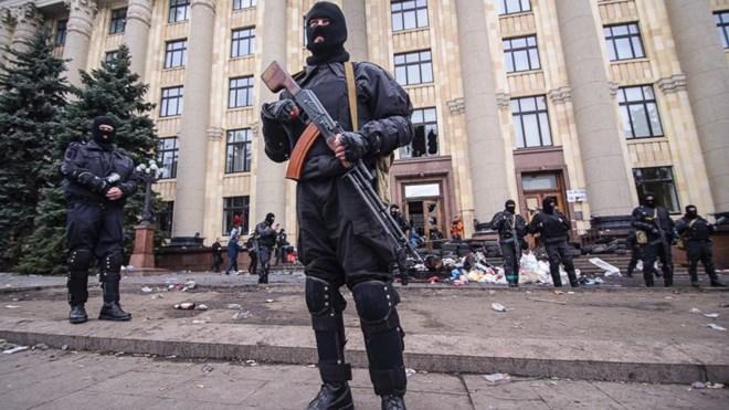 Phe ly khai tại Ukraine tuyên bố tạo một hệ thống ngân hàng riêng