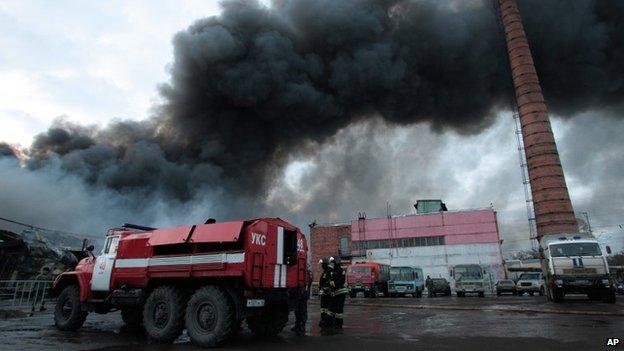 Một khu vực rộng 4.000 m2 tại chợ Admiral đã bị thiêu rụi (Ảnh: