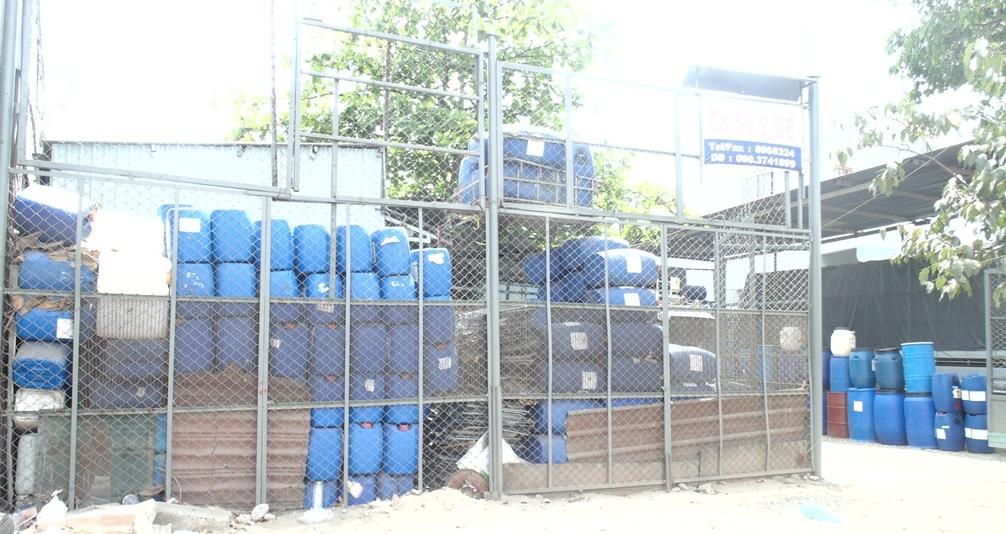 Cơ sở thu gom rác thải công nghiệp nguy hại dưới hình thức thu mua phế liệu