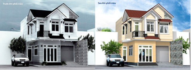 Những sai lầm cần tránh khi chọn màu sơn nhà