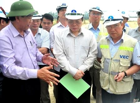 Giám sát tiến độ dự án đường cao tốc Đà Nẵng - Quảng Ngãi
