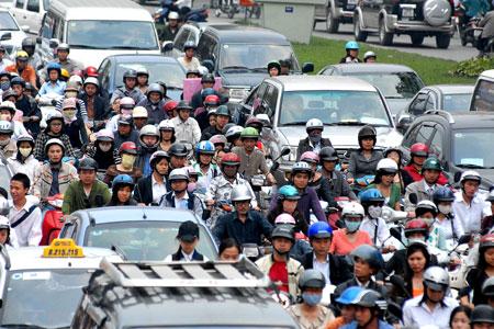 Khởi công tuyến cầu đường mở rộng giao thông khu vực Ngã Tư Sở