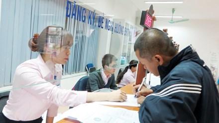 Tại nhiều TTGTVL, Kiểm toán Nhà nước phát hiện xảy ra nhiều sai sót trong chi trả trợ cấp thất nghiệp. Ảnh: Quỳnh Nga.