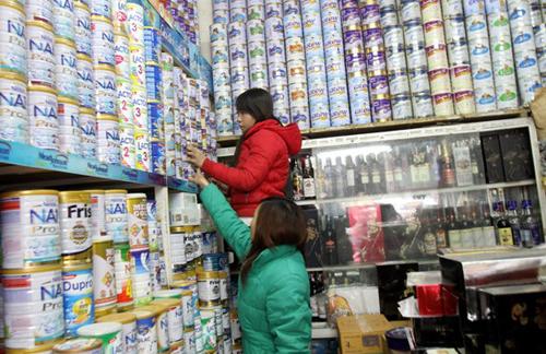 Công bố giá trần sữa trẻ em dưới 6 tuổi