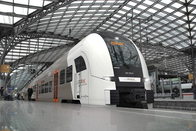 Siemens giành đơn hàng xây đường sắt cao tốc trị giá gần 2 tỷ euro