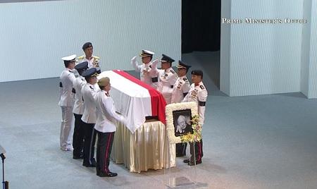 Thủ tướng Nguyễn Tấn Dũng dự lễ tang ông Lý Quang Diệu tại Singapore